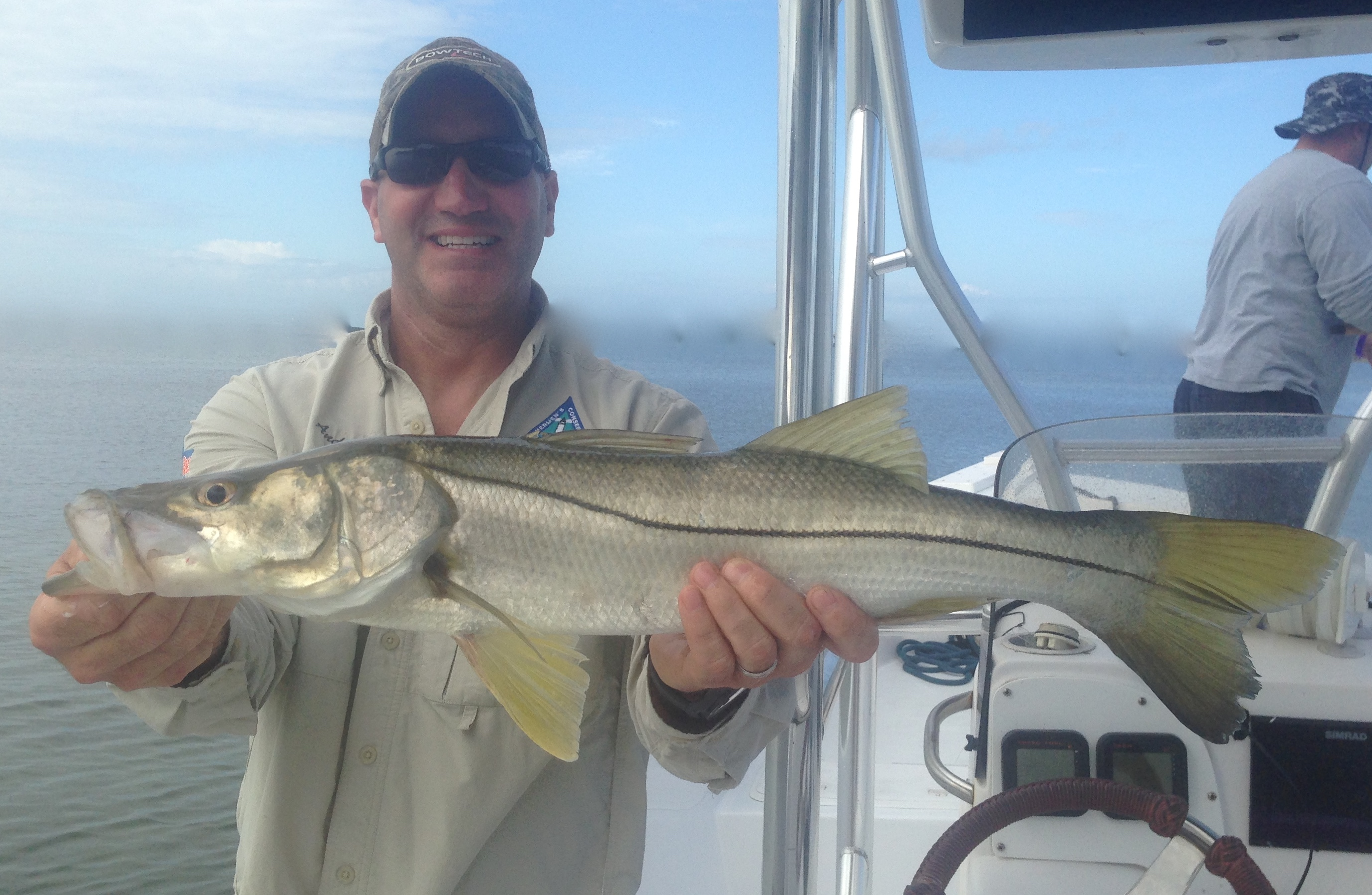 snook fishing charter spanish sardine