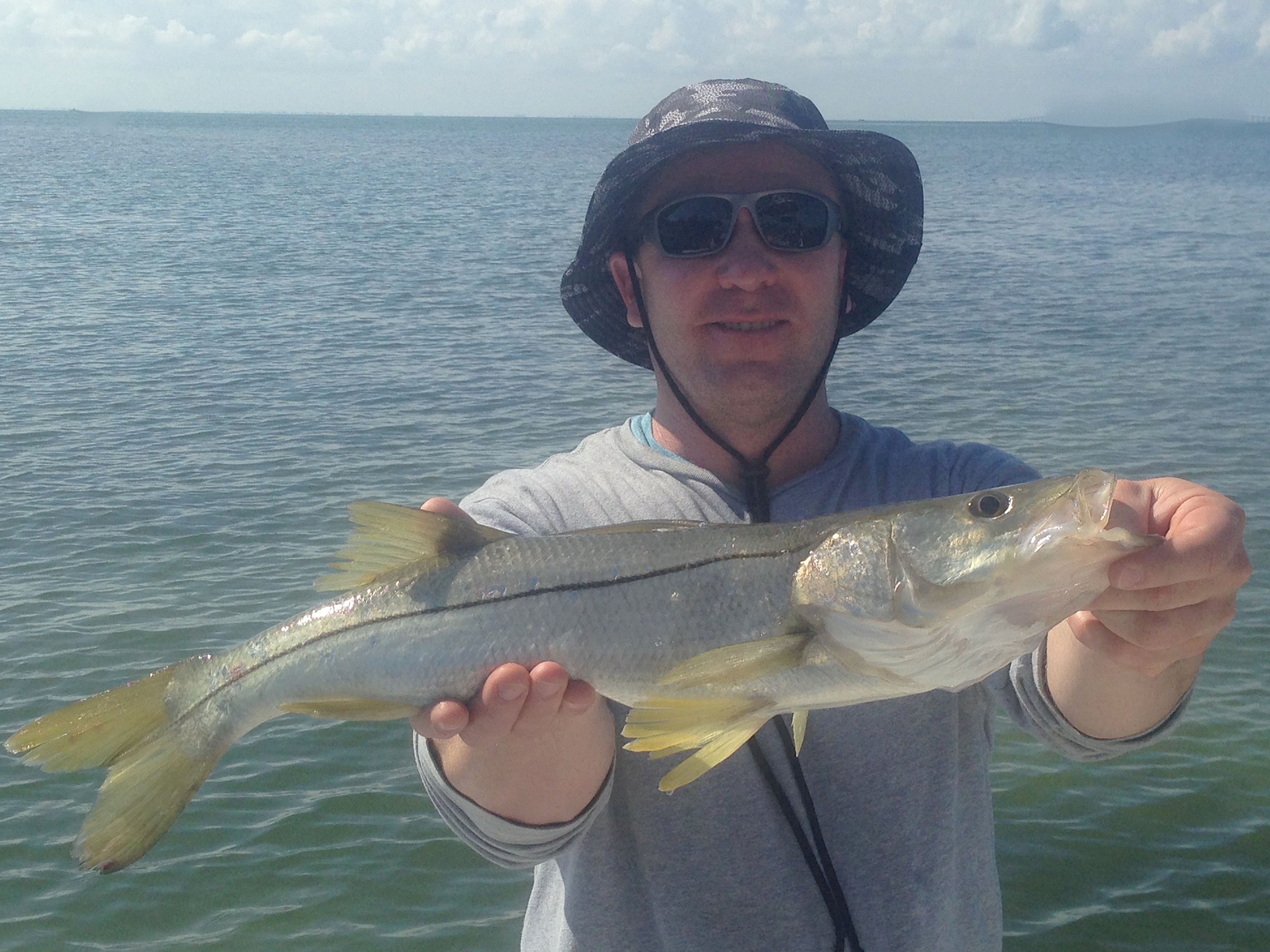 best fishing charter snook  my day