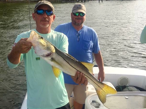 Hooked on Hope 3rd place Snook